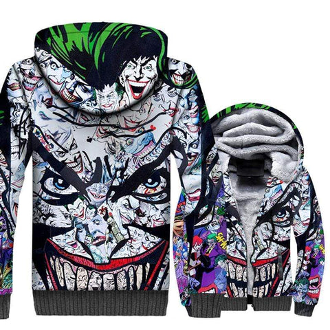Suicide-Joker Veste Polaire Joker <br> Le Clown Du Diable Joker