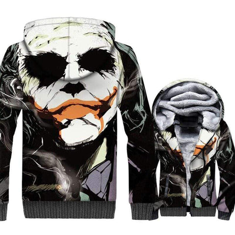 Suicide-Joker Veste Polaire Joker <br> Masque De Clown Joker