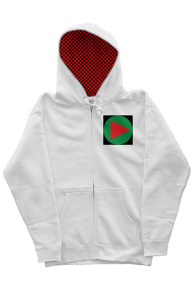 Play Check Hoodie
