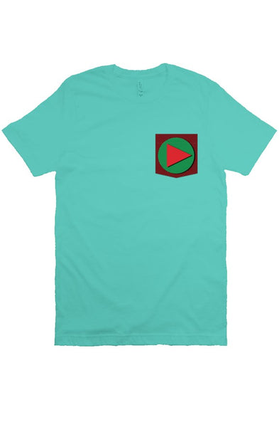 Play T Shirt (a blueish)