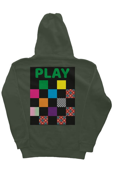 Play Hoodie (Army Green)