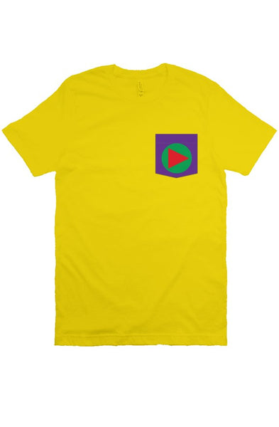 Play T Shirt (Yellow)