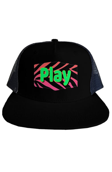 Play (Black) Cap