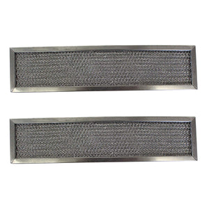 2-Pack Replacement Aluminum Filters Compatible with Dacor 83027,G-8661,RHF0617-6 x 23 x 3//8