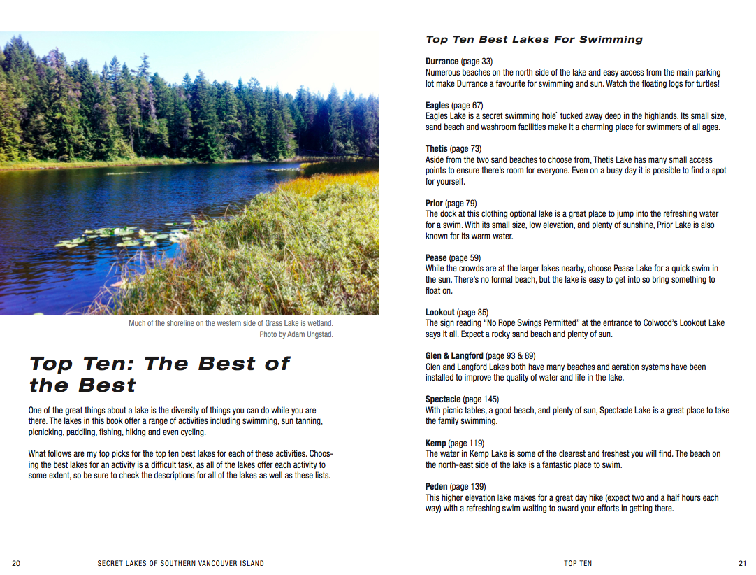 Secret lakes of southern vancouver island guidebook ebook fandeluxe Choice Image