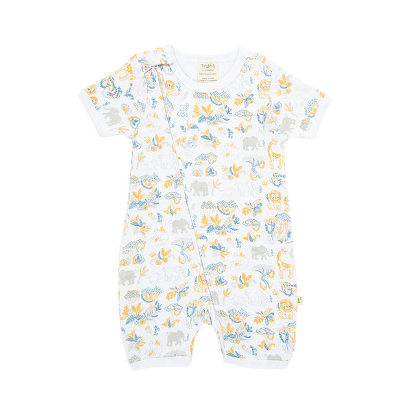 Organic Cotton - Baby Zipsuit  - Discovery