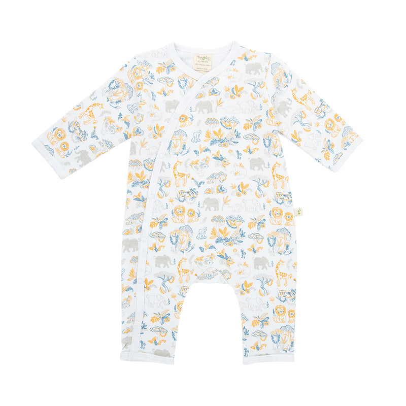 Organic Cotton - Baby Snap Growsuit - Discovery