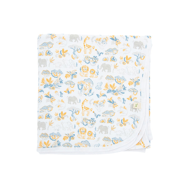 Organic Cotton - Baby Blanket - Discovery