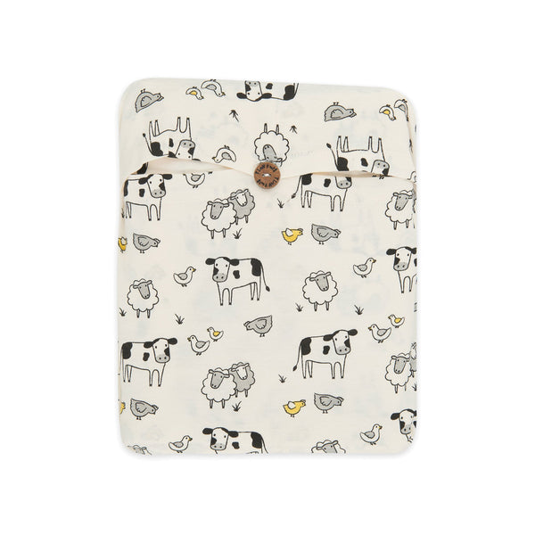 Organic Cotton - Baby Fitted Sheet -  Farmers Market