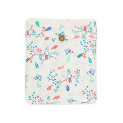 Organic Cotton -  Baby Fitted Sheet -  Garden Floral