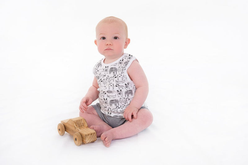 Jungle Jive Organic Singlet Set