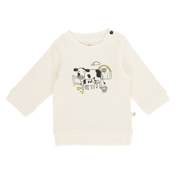 Organic Cotton -  Baby Sweat Shirt -  Farmers Market