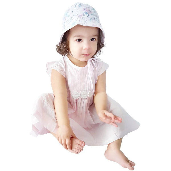 Marshmallow Vienna Organic Dress
