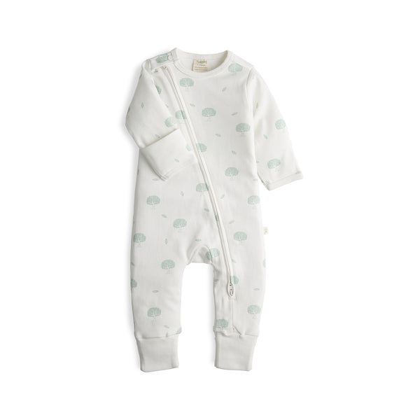 Wish Tree Organic Long Sleeve Zipsuit