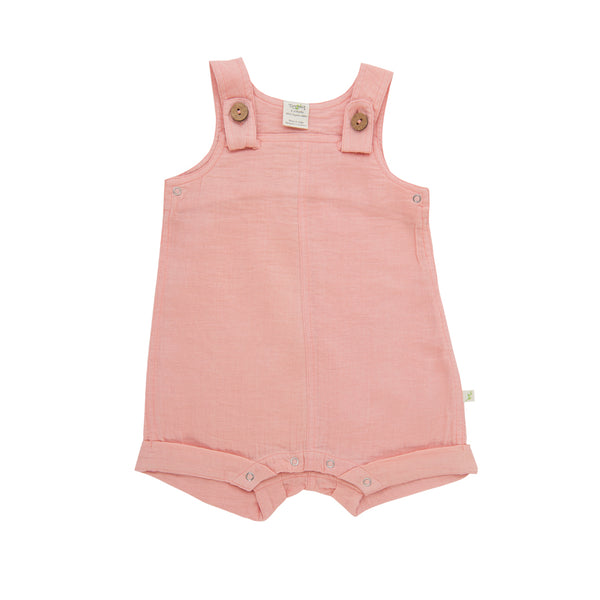 Baby Overall - Apricot Blush | Made with Organic Cotton