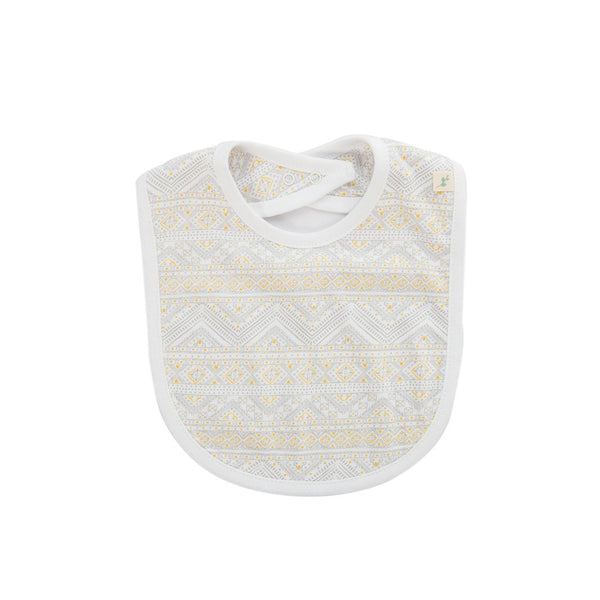 Organic Cotton Baby Bib - Tiny Tribal