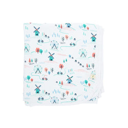 Organic Cotton Baby Blanket - Play Park