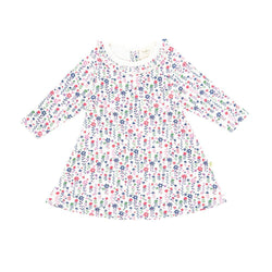 Organic Cotton Baby Dress - Pretty Floral