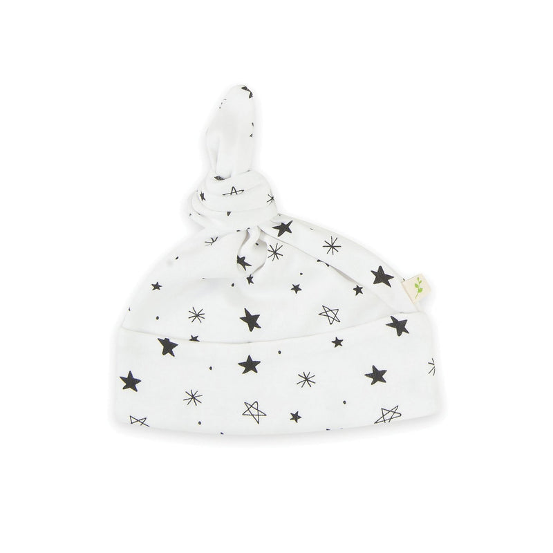 Organic Cotton - Baby Knotted Beanie - Intergalactic