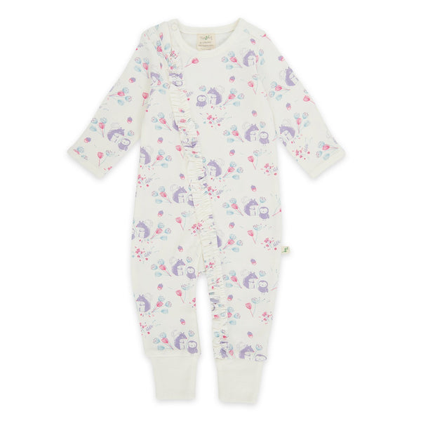 Organic Cotton - Baby Long Sleeve Zipsuit -Into the woods