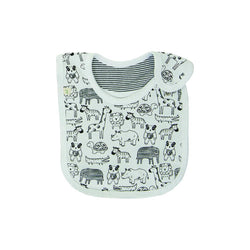 Organic Cotton - Baby Bib - Jungle Jive