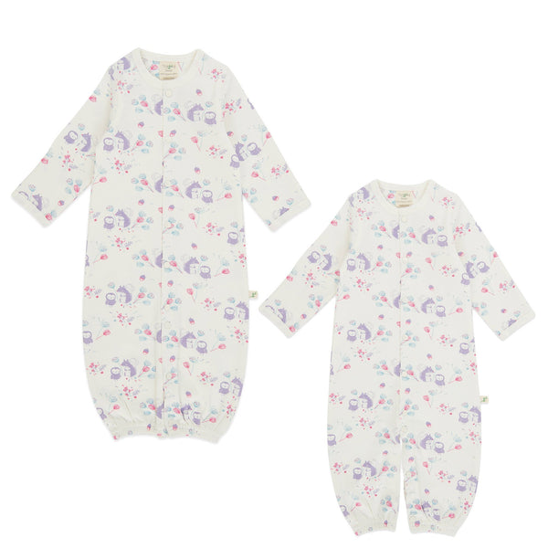Organic Cotton - Baby Sleepsuit - Into the Woods