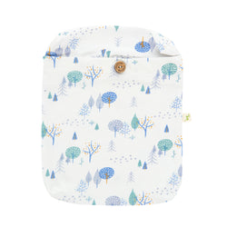 Organic Cotton Fitted Sheet - Arctic  Trail