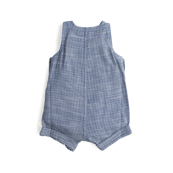 Blue Chambray Organic Overall