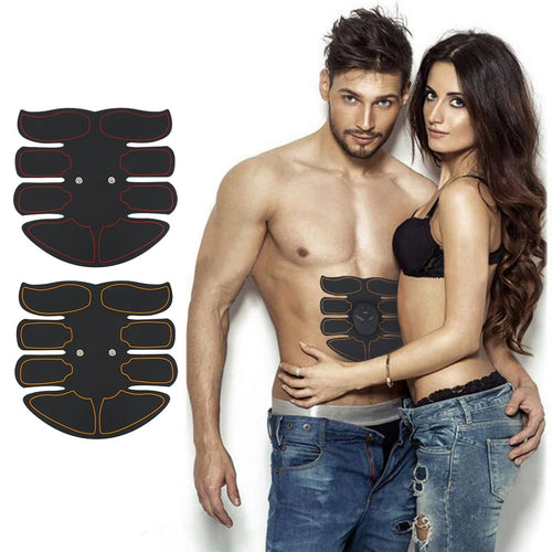 Smart Abdominal Muscle Exerciser Training Sticker ABS Massager Stimulator Pad Exercise Fitness Sports Gear Equipment Tools