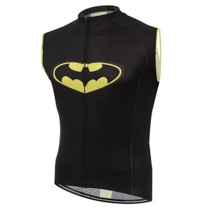 BATMAN Cycling vests 2019 new Sleeveless Cycling Jerseys men Bicycle Clothing Bike Quick Dry cycling sports Sleeveless shirt