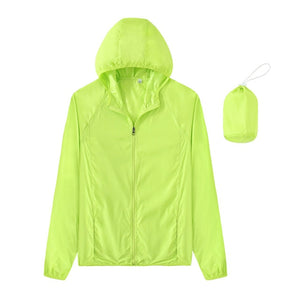 Men&Women Quick Dry Skin Jackets Waterproof Anti-UV Coats Outdoor Sports Brand Clothing Camping Hiking Male&Female Jacket