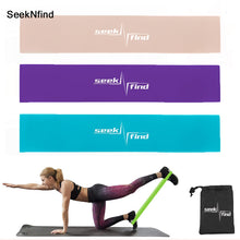 Load image into Gallery viewer, TPR Resistance Bands Rubber Band Workout Fitness Gym Equipment Rubber Loops Yoga Gym Strength Training Athletic Elastic Bands
