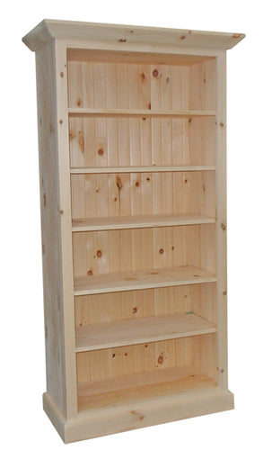 JFB Bookcase with Crown