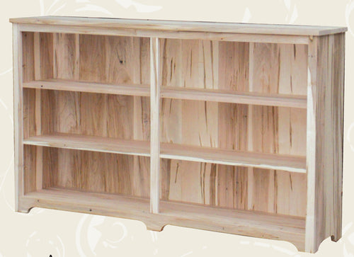 Rustic Wide Bookcase