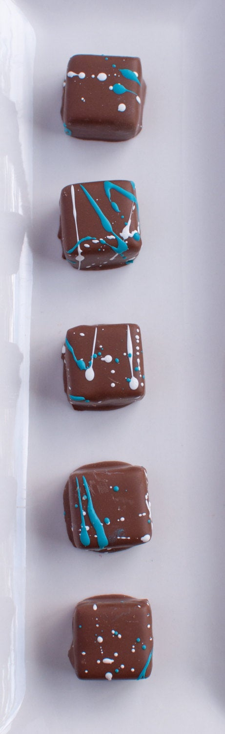 Chocolate Almond Cream-Milk Chocolate Butter Ganache
