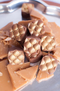 Toffee Truffles - Milk Chocolate Covered