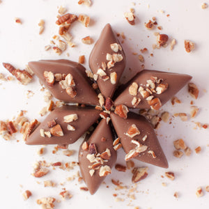 Debutantes - Caramel Milk Chocolate Covered