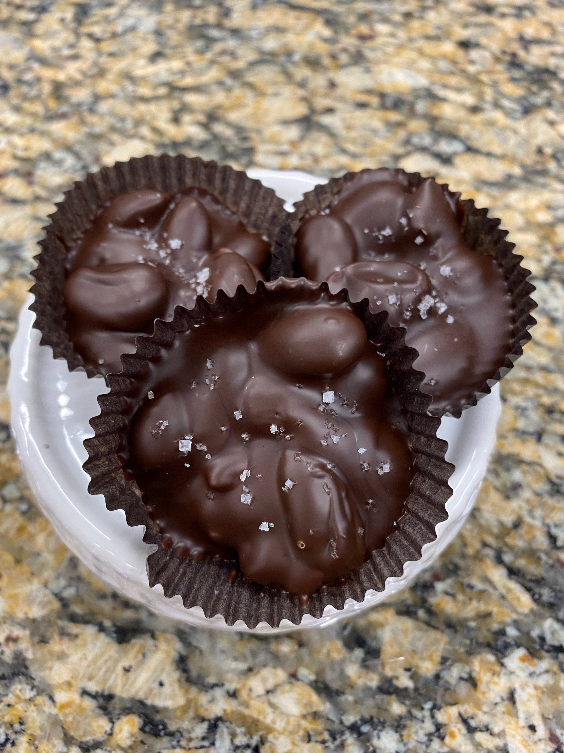 Dark Chocolate Almond Clusters (Add On Item)