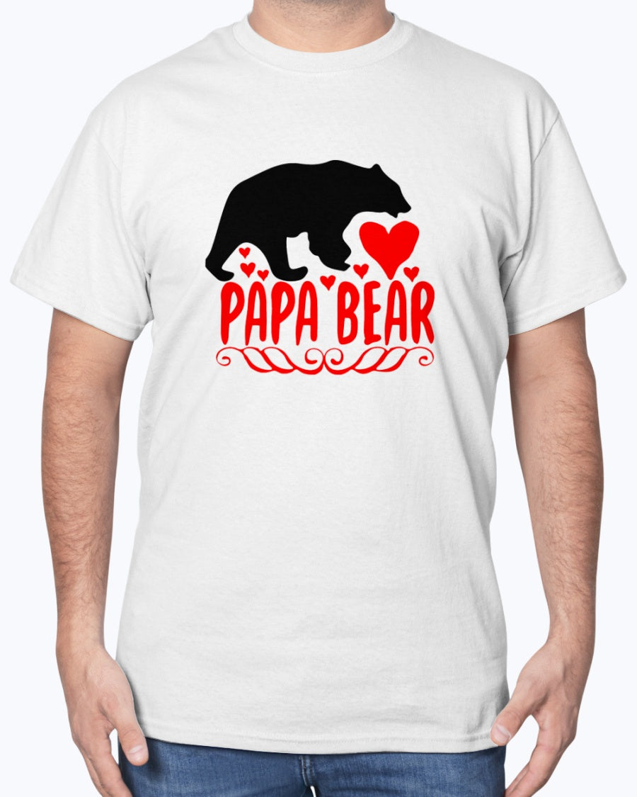PAPA Bear, Cotton T-Shirt