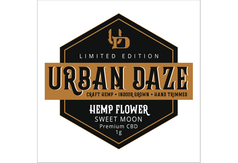 Urban Daze Craft Hemp Flower Sweet Moon 1g Logo