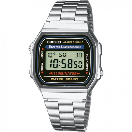 Casio a168wa-1yes heren digitaal