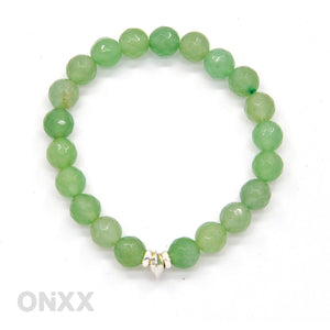 Aventurijn armband met Zilver by ONiXX - HALT - Happiness in Little Things - Knokke