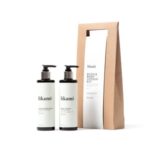 Likami bath & body lotion kit - Happiness in Little Things