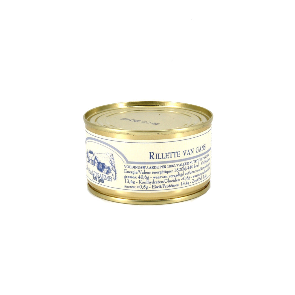 Rillette van Gans Handsaeme 130g - Happiness in Little Things