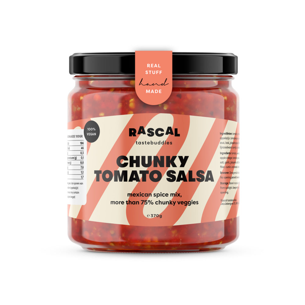 Tomaten salsa - Happiness in Little Things