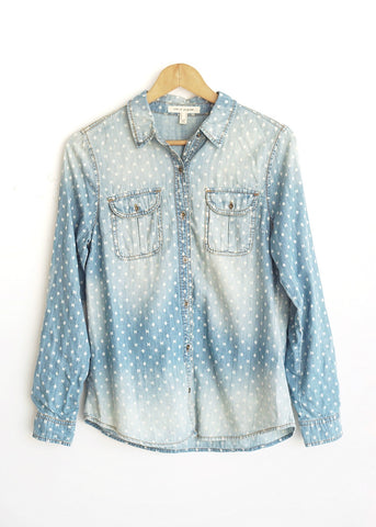 Camisa denim washed