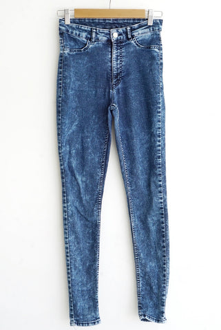 Jean azul intenso washed