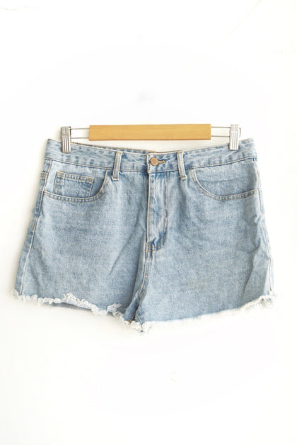 Short denim corto