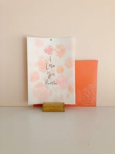 'I Love You Mom' Card