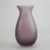 Barrel Glass Vase (grey)